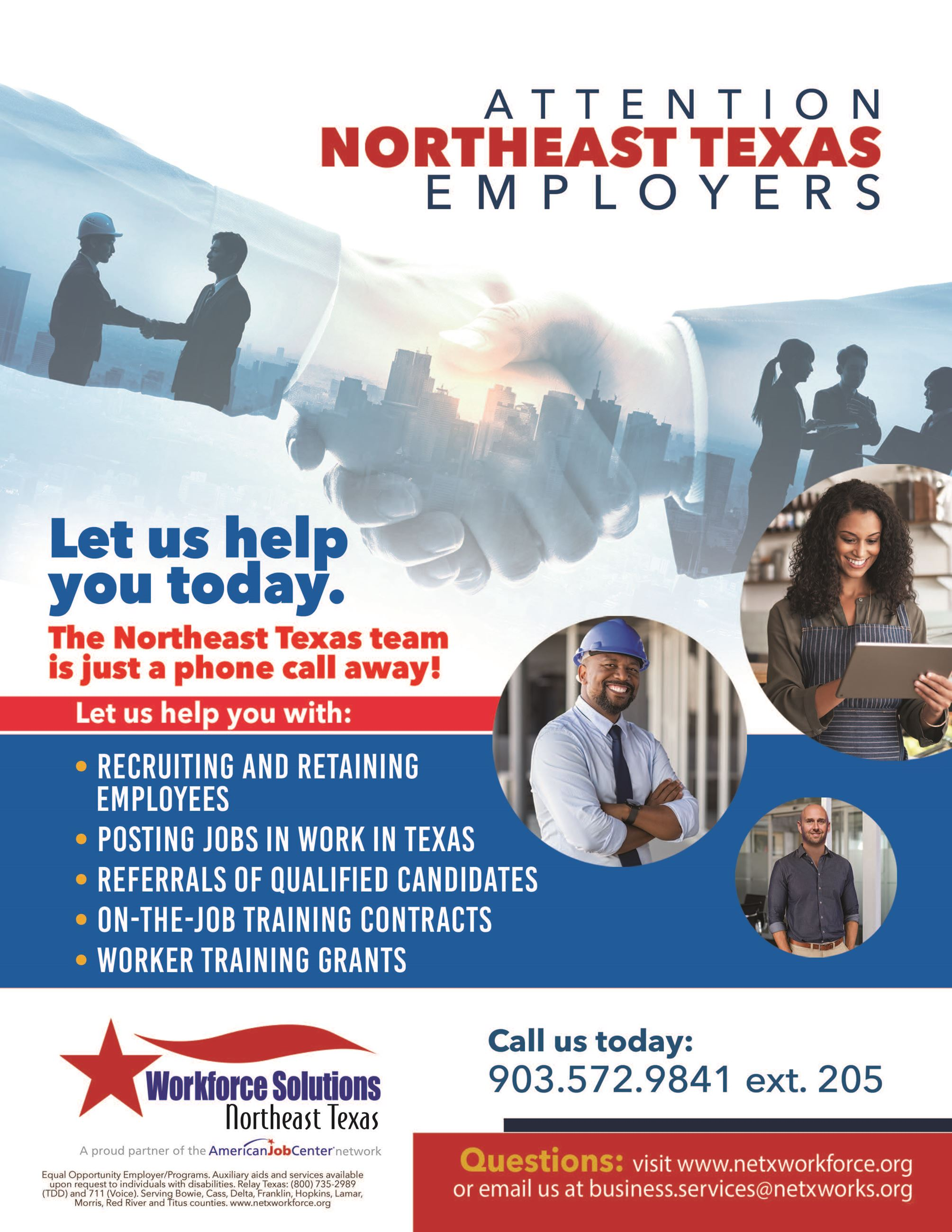 Employer Services Flier